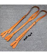 Sale, Leather Suspender, Men's Suspender, Groomsmen Suspender, Wedding S... - $65.00