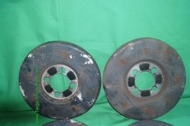 Set Wheel Brake Dust Cover Set Shield 4x108 image 4