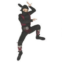 Muscle Ninja Boys Halloween Kids Costume Small, Med, Large Free Shipping - £19.56 GBP