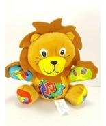 """Baby Einstein Press & Play Pal 7"""" LION hands feet Are instruments Plush ... - $11.57"""