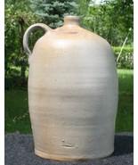 Antique Primitive Beehive Brown Grey Stoneware Jug Moonshine Western 2 D... - $79.00