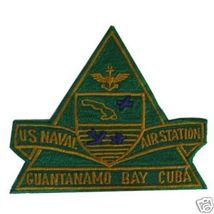 "Us Naval Air Station Guantanamo Bay Cuba 4"" Patch - $20.00"