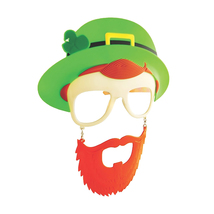 Morris Costumes Halloween Novelty Accessories Sunstache Leprechaun Cl - $21.66
