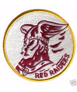"""22nd BOMB GROUP RED RAIDERS 4"""" PATCH W/GOLD TRIM - $20.00"""