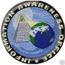 "IAO Information Awareness Office Logo 5"" Patch - $25.00"