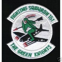 "151st Fighting Squadron The Green Knights 3.5"" Patch - $20.00"