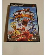 Power Rangers: Dino Thunder - (Sony Playstation 2, 2004) ~ Nickelodeon T... - $4.89