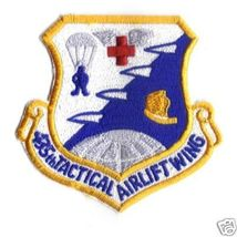 """435th Tactical Airlift Wing 3.5"""" Patch - $20.00"""