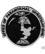 """Office of Paranormal Investigation 3.9"""" UFO Patch - $25.00"""