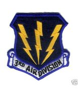 "3rd Air Division SAC 3.5"" Patch Military - $20.00"