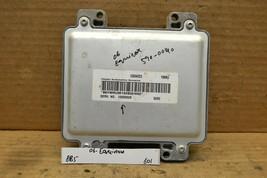 2006 Chevrolet Equinox Engine Control Unit ECU 12600928 Module 601-8b5 - $9.99