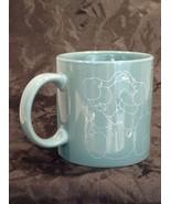 Vtg Taylor Ng Elephant 1979 Naughty Orgy Ceramic Mug Mint Green - $34.65