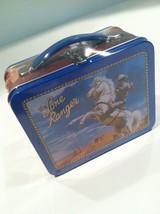 The Lone Ranger & Silver Mini Metal Lunch Box TM 1998 School Days Orig Wrap - $29.21