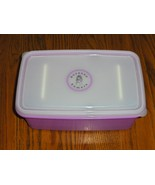 Suzanne Somers Breading Plastic Container Purple - $14.97