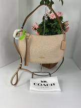 Coach Bag Legacy Jacquard Sutton Shoulder Crossbody Beige White  67367 B1 - $98.95