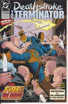 DC Deathstroke The Terminator #22 Slade Wilson Fire & Blood Action CW Arrow - $2.75