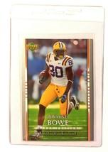 2007 Upper Deck First Edition #118 Dwayne Bowe Football Card Kansas City... - $0.94
