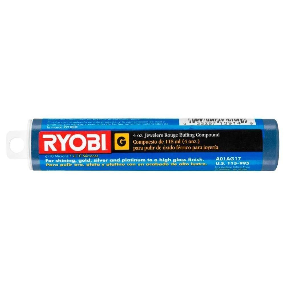 "Primary image for Ryobi 4 oz. Emery ""C"" Buffing Compound Tube"