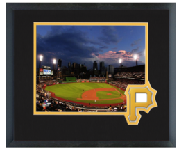 PNC Park 2014 Home of the Pittsburgh Pirates - 11 x 14 Matted/Framed Photo  - $43.95