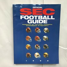 1995 Official SEC Football Guide -  Yearbook of the Most Powerful Confer... - $7.92