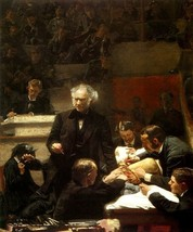 The Surgical Clinic Of Professor Gross Medicine Painting By Thomas Eakins Repro - $10.96+