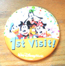 Walt Disney World 1st. Visit ! - Pin - Measures 3 inches - $7.95