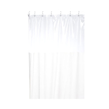 Carnation Home Fashions Window Vinyl Shower Curtain in Ivory 1301-SCWIN-... - $41.87