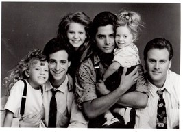 Full House John Stamos Olson Sisters 1 Vintage 11X14 BW TV Memorabilia P... - $13.95