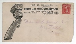 1900 D E Hull Rubber & Steel Anti-Rattlers For Thill Couplings Advertisi... - $14.99