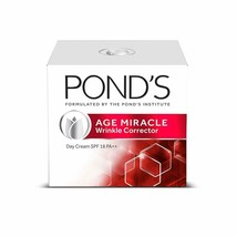 Pond'S Age Miracle Wrinkle Corrector Day Cream Spf 18 Pa++ Anti Aging Da... - $14.45