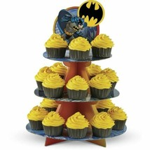 Batman Cupcake Treat Stand Holds 24 Cupcakes Wilton - $7.91