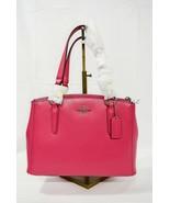 Coach 57265M Crossgrain Mini Christie Satchel/Shoulder Bag in Amaranth -... - $199.00
