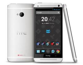 htc one m7 32gb silver unlocked smartphone 4mp quad core mobilephone - $168.80