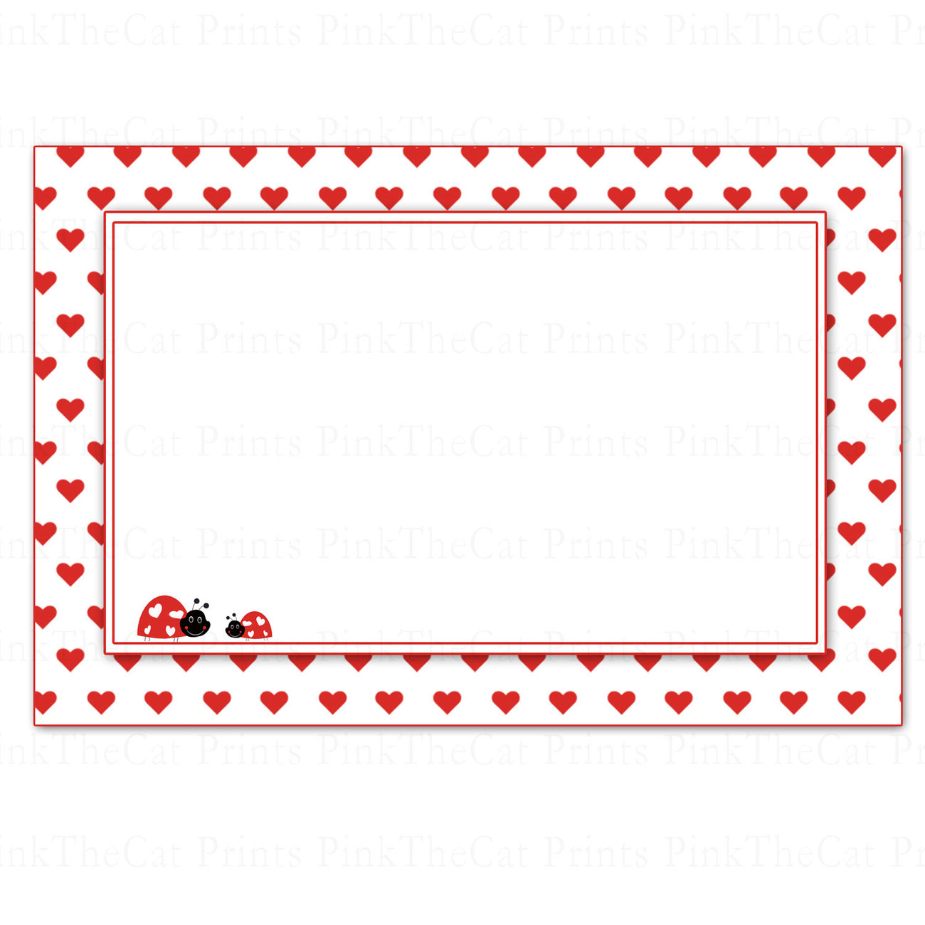 printable blank valentines love day note and 13 similar items, Ideas