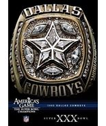 NFL AMERICA'S GAME 1995 DALLAS COWBOYS SUPER BOWL XXX New Sealed DVD  - $5.99