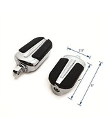 HTTMT Style 103- Chrome Foot Pegs Compatible with 1984-2017 Harley Softa... - $35.81