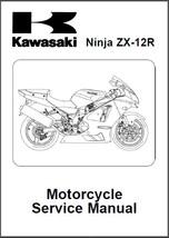 2002-2006 Kawasaki ZX-12R Ninja Service Repair Workshop Manual CD - ZX1200 - $12.00