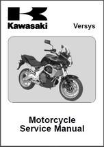 2007-2009 Kawasaki Versys 650 Service Repair Workshop Manual CD --- KLE650 KLE - $12.00