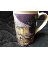 thomas kincade coffee tea mug holiday cheer - $12.00