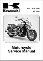 2004-2009 Kawasaki Vulcan 2000 / VN2000 Service Repair Manual CD -- VN 2000 - $12.00