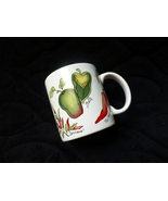 peppers of every color coffee mug by sakura by sue zipkin 1995  - $20.00