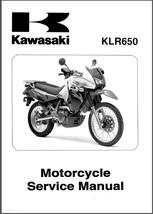 08-14 Kawasaki KLR650 Service Repair Workshop Manual CD --- KLR 650 - $12.00