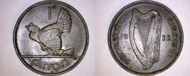 1928 Irish 1  Penny World Coin - Ireland - $21.99