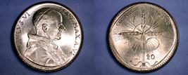 1968 Vatican City 20 Lire World Coin - Catholic... - $11.99