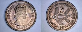 1955 Cyprus 3 Mils World Coin - $6.99