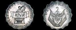 1970 Rwandan 2 Franc World Coin - Rwanda - $4.99