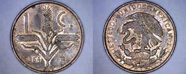 1964 Mexican 1 Centavo World Coin - Mexico - $3.49