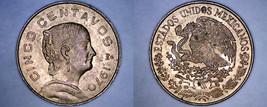 1970 Mexican 5 Centavo World Coin - Mexico - $2.99