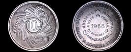 1968 Burundi 10 Franc World Coin - $14.99