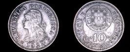 1929 Saint Thomas & Prince Island 10 Centavo World Coin - $29.99